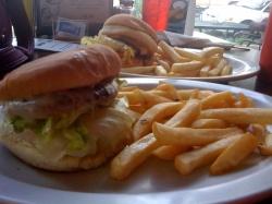 A sampling of Burger Boy.