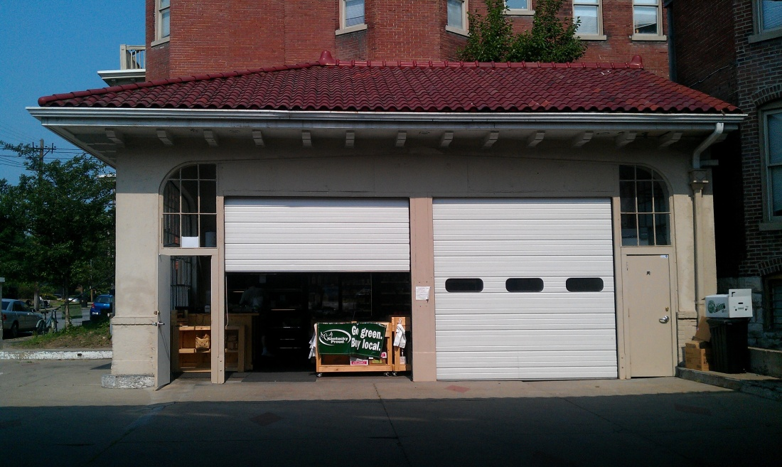 The Root Cellar started in this converted garage in Old Louisville. It eventually closed and operated solely in its Germantown location.