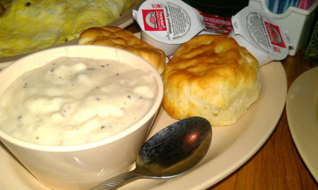 Biscuit and gravy from Terri Ann's