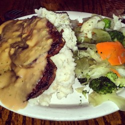 The meatloaf special at The Irish Rover.