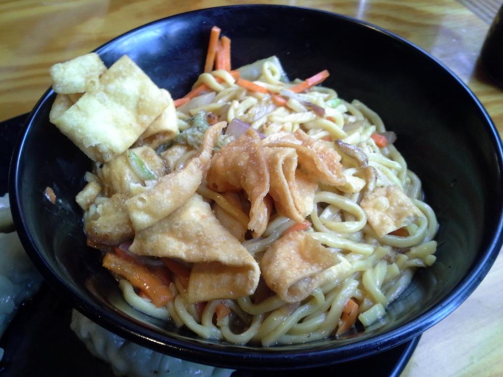 Yang Kee Noodle chicken lo mein
