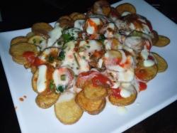 Fancy potatoes from Havana Rumba Express.