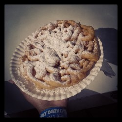 Funnel cake because it's time for the Kentucky State Fair.