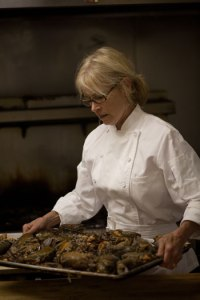 Chef Kathy Cary of Lilly's (photo courtesy of lillyslapeche.com)