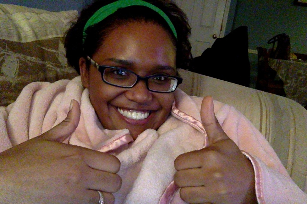 Snuggie? Check. Enthusiasm to be back on Ashlee Eats? DOUBLE CHECK.