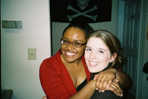 Me and my friend Beth in 2006. HOLY CRAP, THAT WAS NINE YEARS AGO.