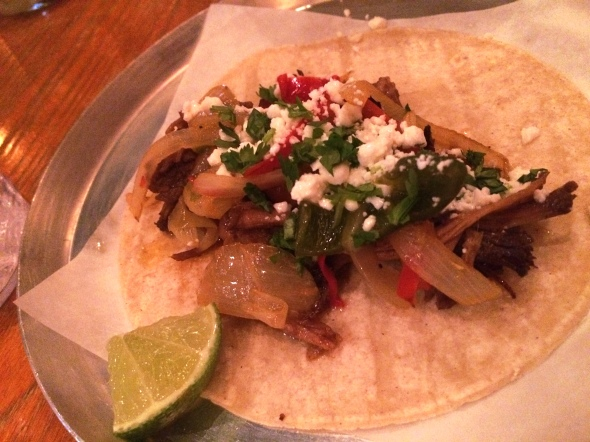 "When I say ""Brisket,"" you say, ""Taco."""