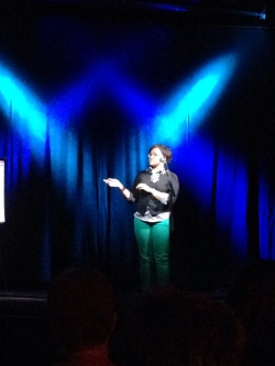 That one time I hosted The Moth StorySlam at Headliners.
