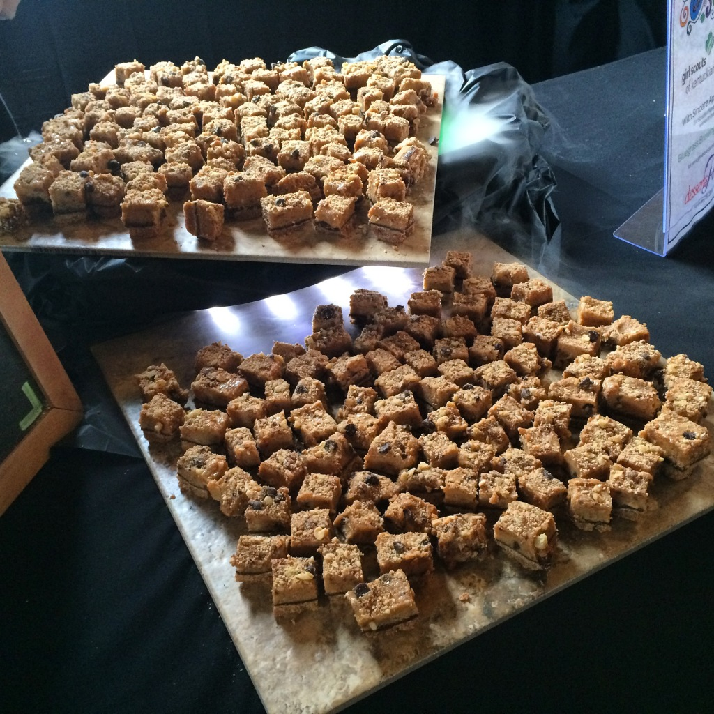 Delicious treats from Bluegrass Brewing Company at Desserts First, a fundraiser for Girl Scouts of Kentuckiana.